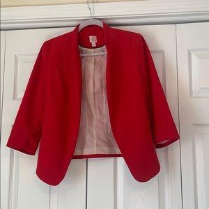 LC Lauren Conrad red blazer, size 6